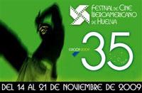 Cartel de la edición 35 del Festival Iberoamericano de Huelva