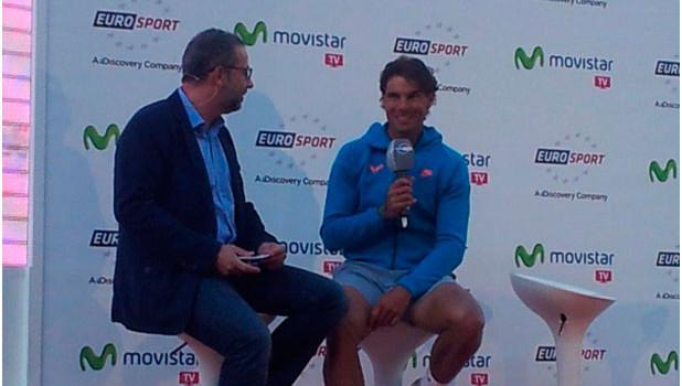 Rafa Nadal protagoniza la cobertura de Eurosport para Roland Garros