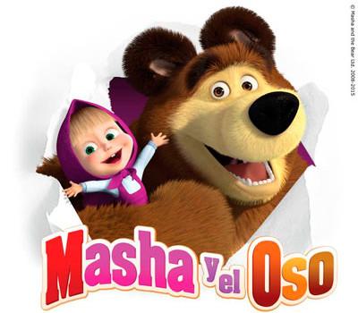 'Masha y el oso', galardonada en el Kidscreen 2015, llega a Canal Panda