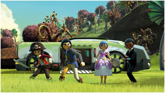 El universo Playmobil llega a Canal Panda con el estreno de 'Super 4'
