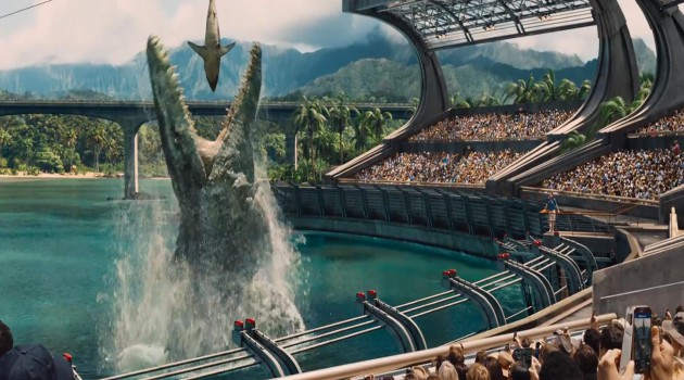 'Jurassic World' sigue arrasando en la taquilla española