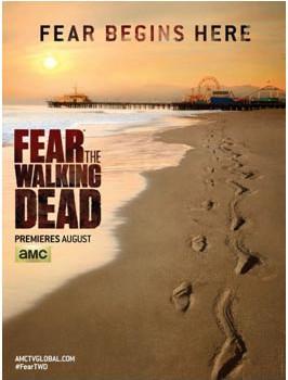 """""""El miedo empieza aquí"""", claim del póster oficial de 'Fear the Walking Dead'"""