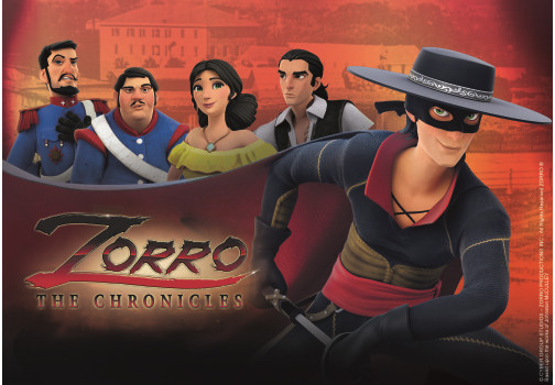 'Zorro The Chronicles' tendrá su screening en MIPJunior