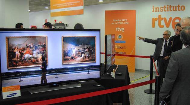 SAPEC integra con éxito HEVC y UHD 4K en colaboración con la Cátedra RTVE-UPM