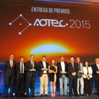 Aotec entrega sus premios en la Feria Tecnológica