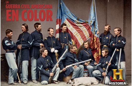 'La Guerra Civil Americana en color' llega hoy a Historia