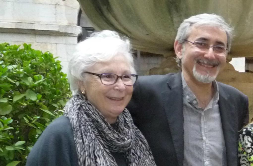 Josefina Molina y Javier Paisano