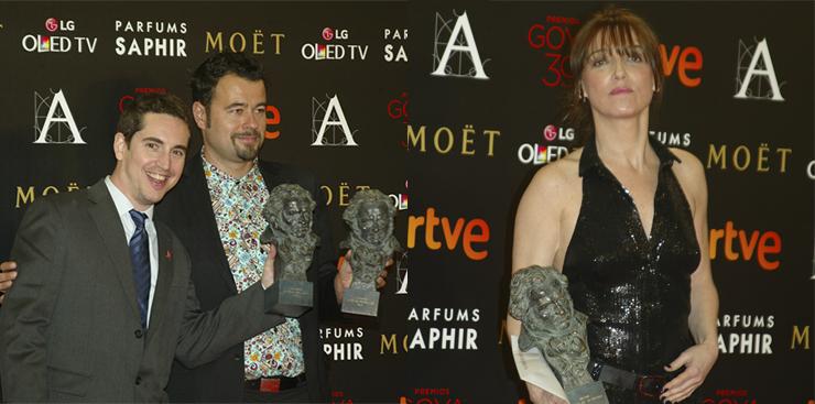 Premios Goya 11 varios