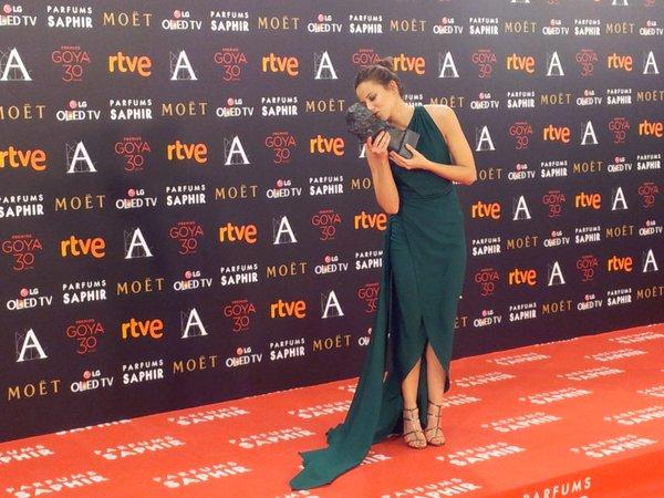 Irene Escolar, Goya a la Mejor Actriz Revelación