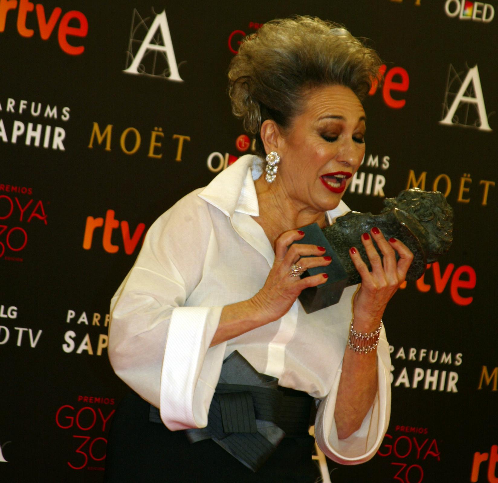 Luisa Gavasa, Goya a la Mejor Actriz de Reparto por La Novia