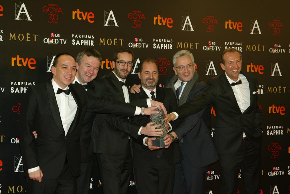 Atrapa la Bandera fue la Mejor Película de Animación de los Premios Goya