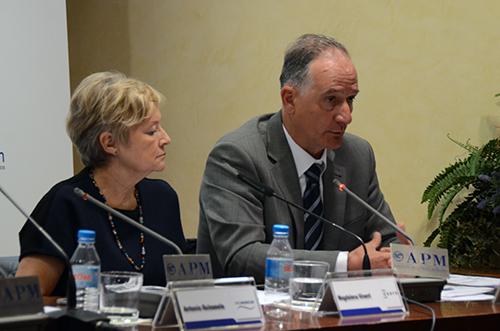 Magdalena Vinent y José Manuel Tourné