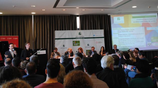 """Nicolás Sartorius: """"Debemos colocar a la Cultura en el centro de la política para lograr el cambio"""""""