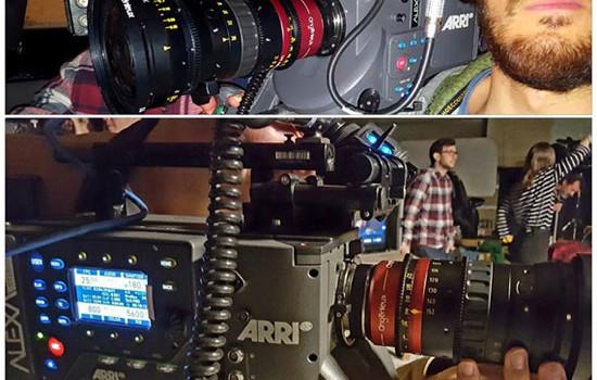 La evolución de las lentes anamórficas toman las escuelas de cine de Madrid y Barcelona