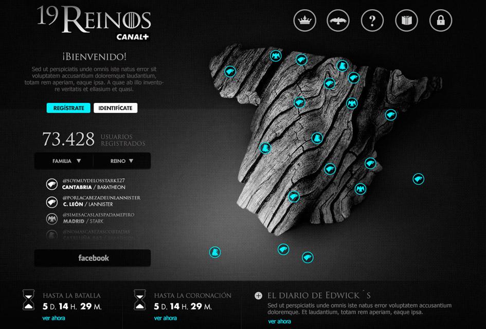 Juego de Tronos 19 Reinos