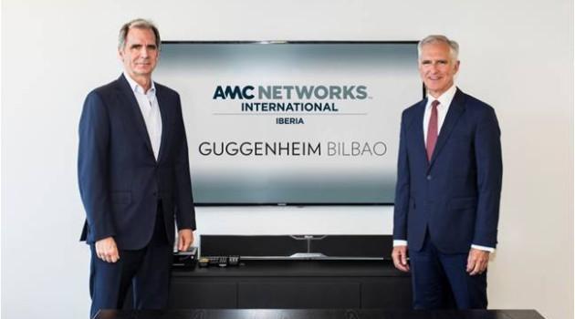 AMC Networks International Iberia y el Museo Guggenheim Bilbao firman un acuerdo de colaboración para impulsar la difusión de la cultura