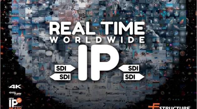 La tecnología de Estructure destaca en todo el mundo con NIBBLE, su solución para la perfecta comunicación audiovisual por IP