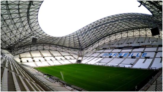 Los estadios más espectaculares de la Eurocopa 2016 se verán en Odisea