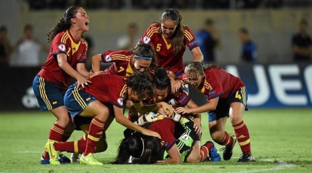 España luchará por el Europeo Sub-19 femenino de la UEFA en Eurosport 1