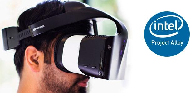 Intel presenta un casco de realidad virtual autónomo y sin cables