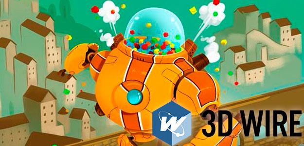 Grandes nombres de la animación y los videojuegos estarán en 3D Wire