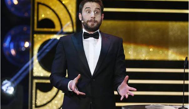 Por tercer año consecutivo Dani Rovira presentará los Premios Goya