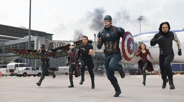 'Capitán América: Civil War' es la película más taquillera de 2016