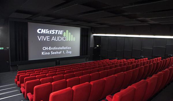 Cinemex Mundo E incorpora Vive Audio y lo completa instalando proyección láser RGB de Christie