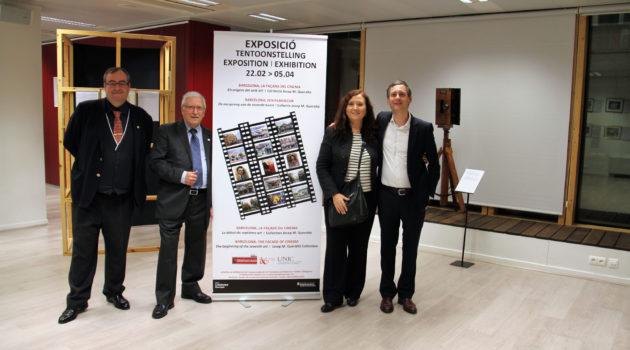 Inaugurada en Bruselas la exposición 'Barcelona, la fachada del cine. Los orígenes del séptimo arte'