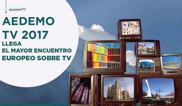 AEDEMO TV 2017: un programa completo con la televisión como protagonista