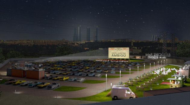 El 24 de febrero abre 'Autocine Madrid Race', el primer autocine de la capital