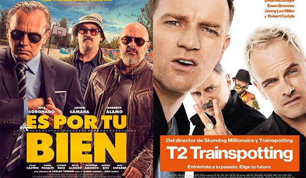 Comedia, drama y acción protagonizan los estrenos de la semana