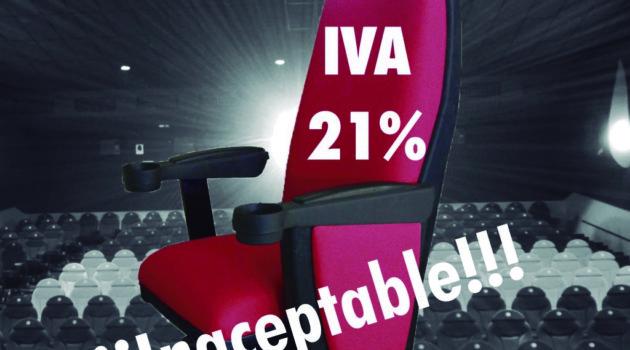 El IVA cultural del 21% es inaceptable