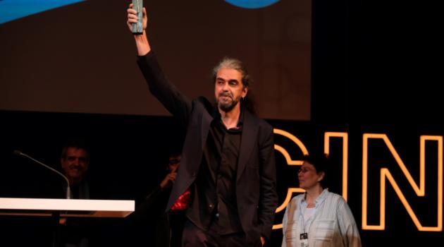 El director Fernando León de Aranoa recoge el Premio Retrospectiva