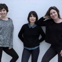 De izquierda a derecha, Anna Castillo, Celia Rico y Lola Dueñas