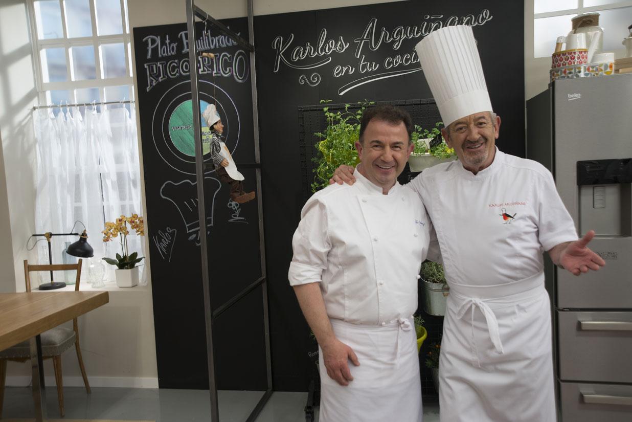 El programa de karlos argui ano recibe a la alta cocina de for Programas de cocina en espana