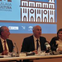 Málaga presenta el Plan Decenio Málaga Cultura Innovadora 2025 con la presencia del Secretario de Estado de Cultura