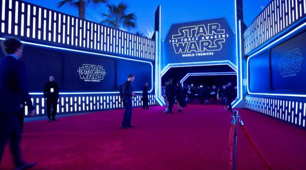 Christie premiada por el estreno mundial de 'Star Wars: El Despertar de la Fuerza'