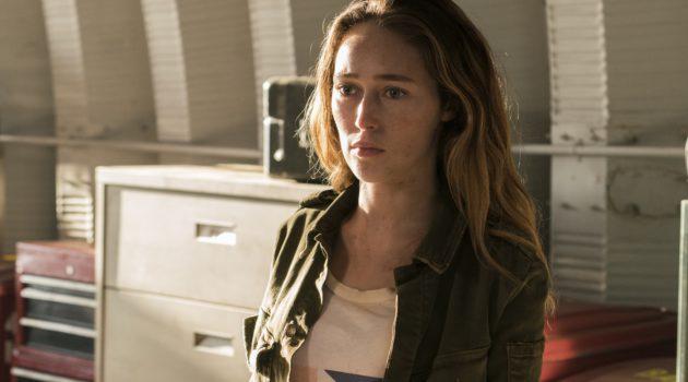 Alycia Debnam-Carey en la nueva temporada de 'Fear the Walking Dead'.