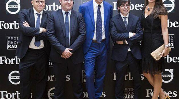 Écija recibe el premio Forbes al mejor despacho especializado en TICs y Propiedad Intelectual