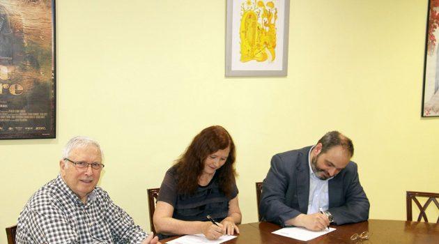 La Colección Josep M. Queraltó firma un convenio de colaboración con el Gremi d'Empresaris de Cinemes de Catalunya