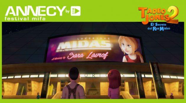 Annecy acogerá el estreno mundial de 'Tadeo Jones 2'