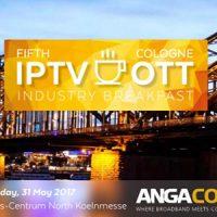 ANGA COM en Colonia acogerá el 5º desayuno sobre IPTV y OTT