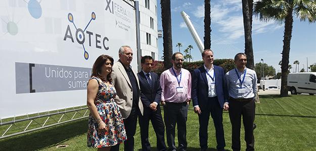 La XI edición de la Feria AOTEC, un éxito de participación