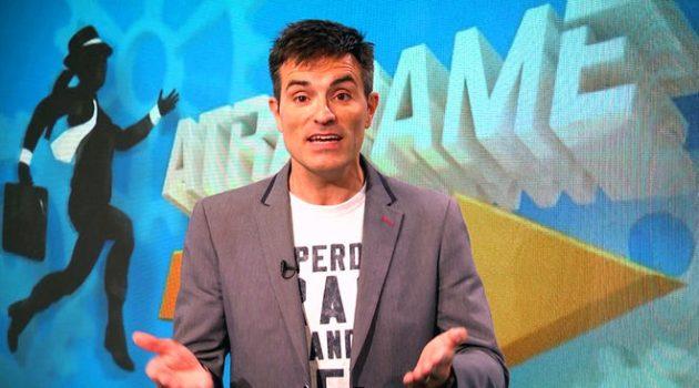 Luis Larrodera será el presentador de 'Atrápame si puedes' en Telemadrid