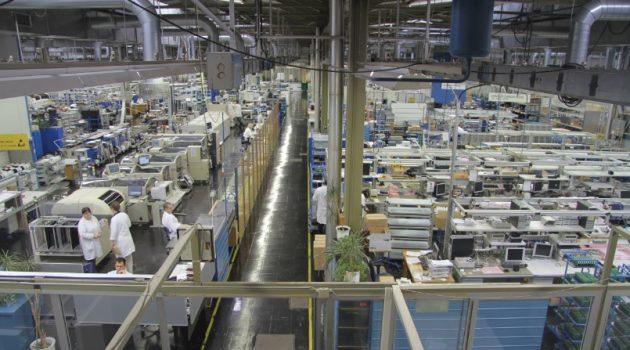 Fábrica de Iskratel.