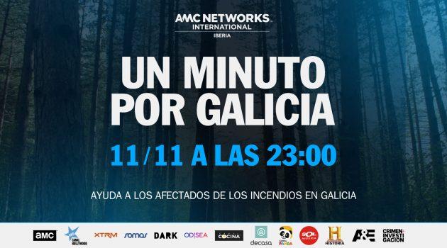AMC Iberia lanza la campaña solidaria 'Un minuto por Galicia'
