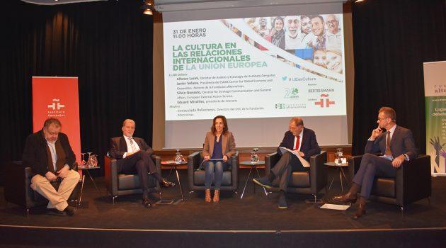La Fundación Alternativas ha planteado el debate para analizar el papel de la cultura como instrumento dentro y fuera de la UE.
