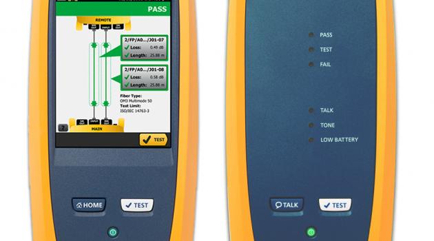 CMATIC presenta la segunda generación de sus certificadores de cableado VERSIV