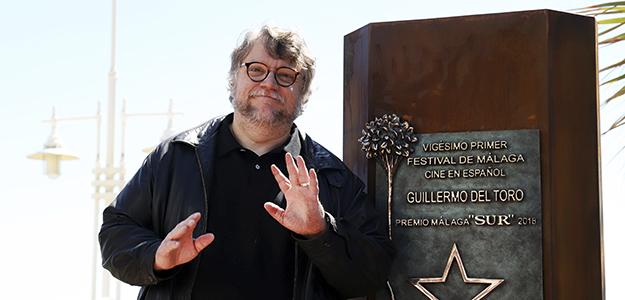 Guillermo Del Toro conquista el Festival de Málaga